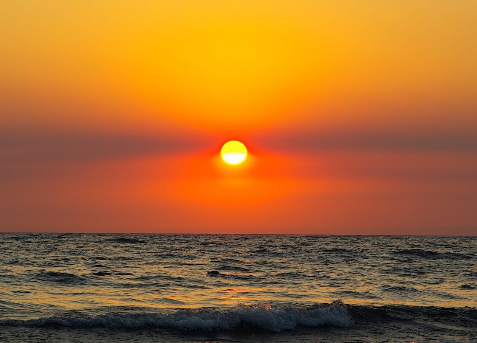 Puesta de sol en Lago Llanquihue