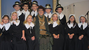 """Parable Players """"Lifestyles on Plimoth Plantation""""  Fall 2012"""