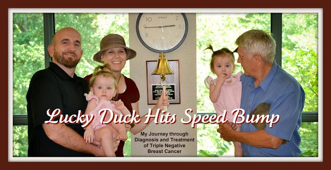 Lucky Duck Hits Speed Bump