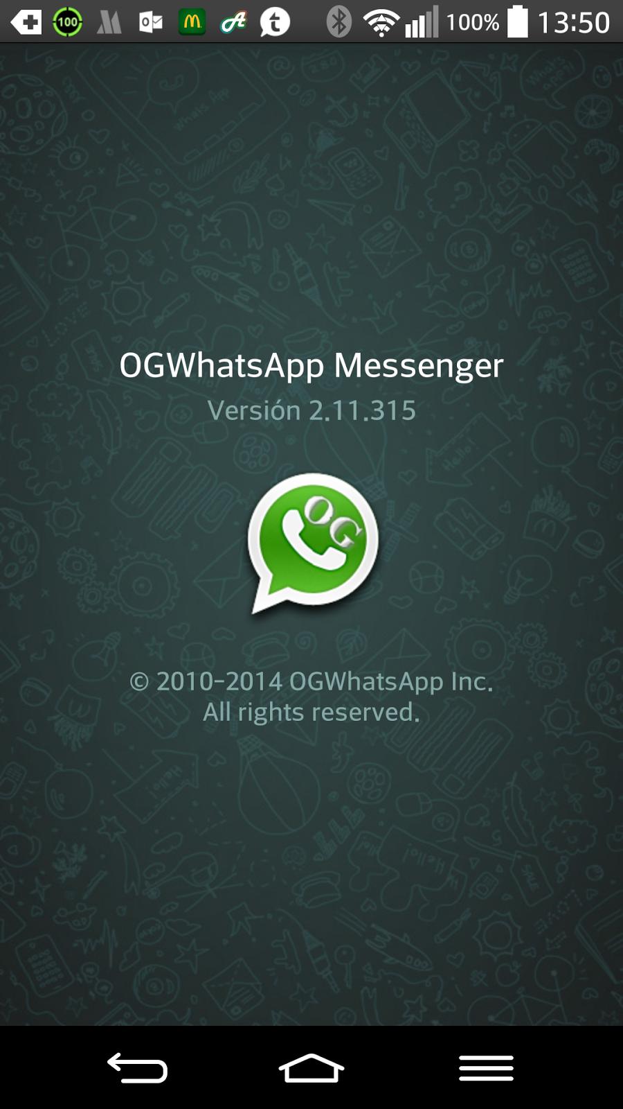 Ya no van a salir nuevas versiones de OGWhatsapp.