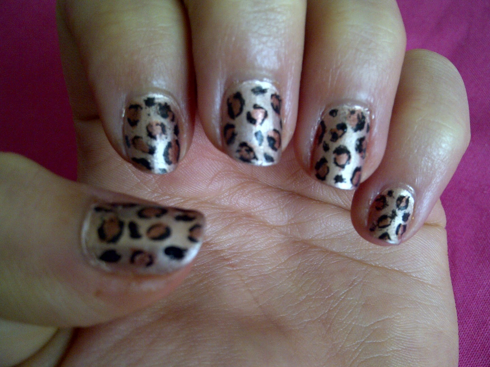Megs Boutique Notd How To Get Leopard Print Nails