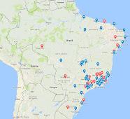 Locais de Missas Tradicionais pelo Brasil