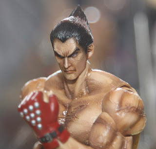 Square Enix Play Arts 2013 Toy Fair Display - Tekken Kazuya figure