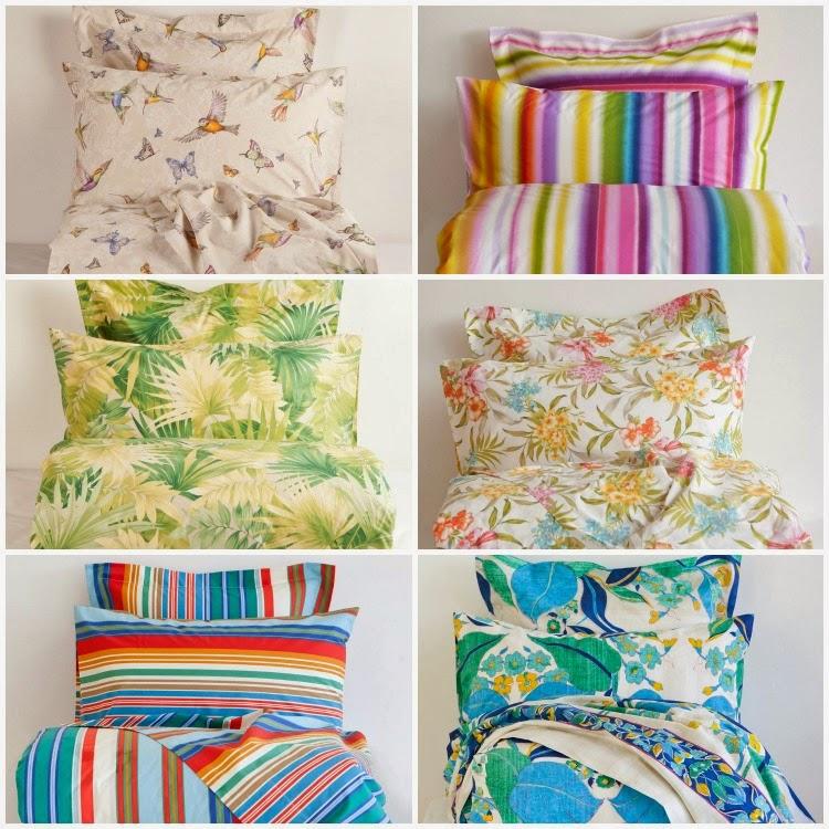 Agosto 31 a todo color en zara home - Zara home ropa de cama ...