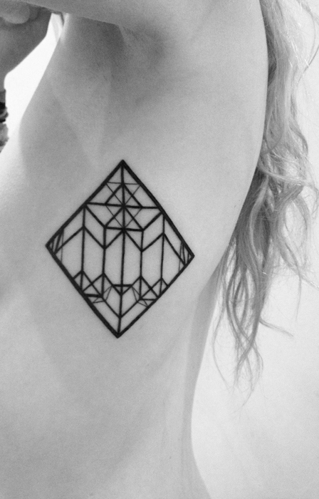 geometric tattoos damn cool pictures. Black Bedroom Furniture Sets. Home Design Ideas