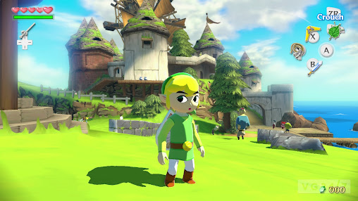 Skjermbilde fra The Legend of Zelda: The Wind Waker HD