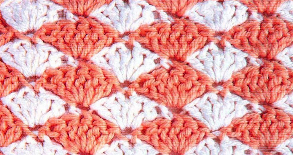 really like this crochet stitch patter n shell stitch