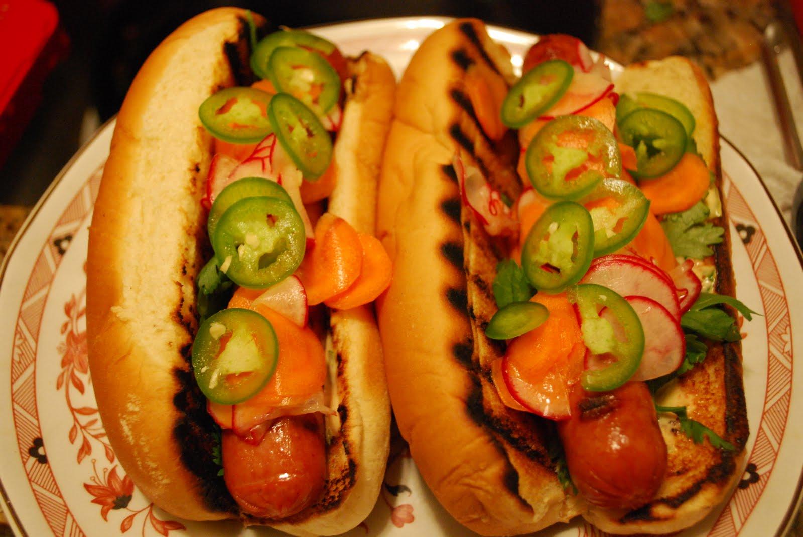 Sybil's Spoon: Banh Mi Hot Dogs
