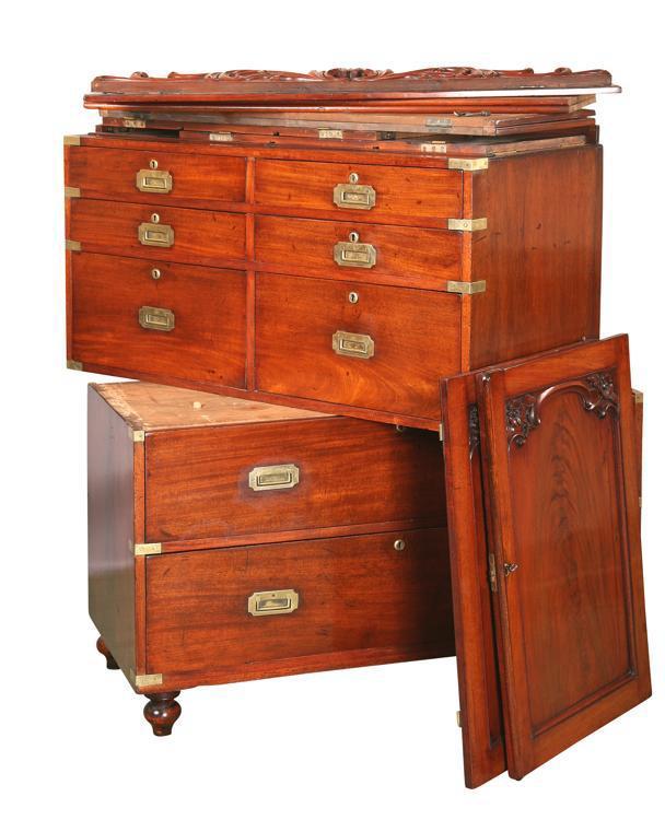 Christopher Clarke Antiques Blog: Gregory Kane : Campaign Furniture Maker.