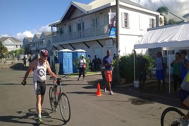 7746c7890a8 Dr gordon avery of nevis was the oldest triathlete it was his nevis  triathlon taylor jpg