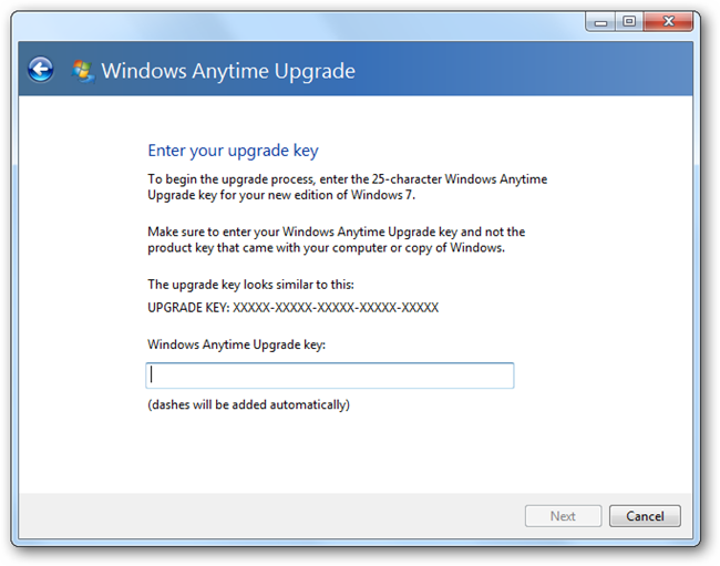 Windows 7 Ultimate Serial Number Upgrade Key