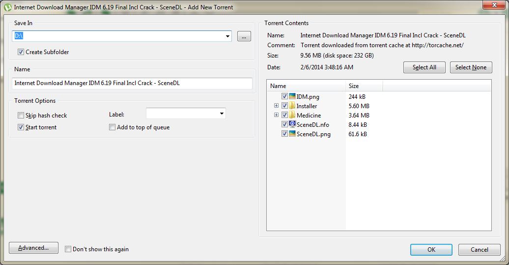 torrent download screenshot2
