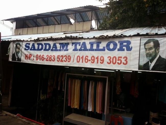 Songkok di Saddam Tailor, Pasar Keramat