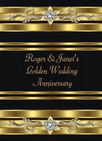 Dicas para convites de bodas de ouro