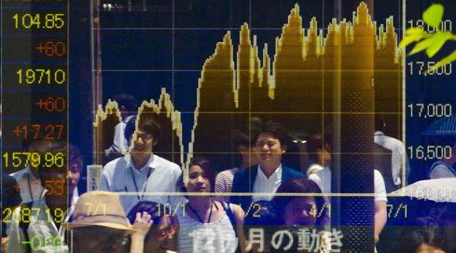 Jelang Pertemuan The Fed, Bursa Asia Melemah
