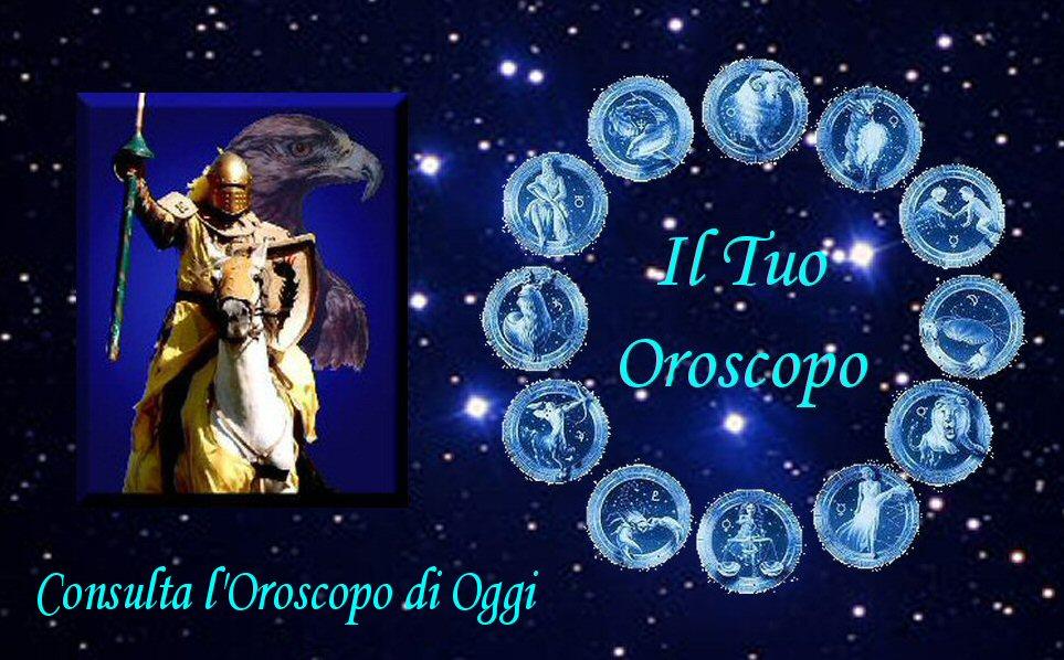 L'oroscopo di oggi
