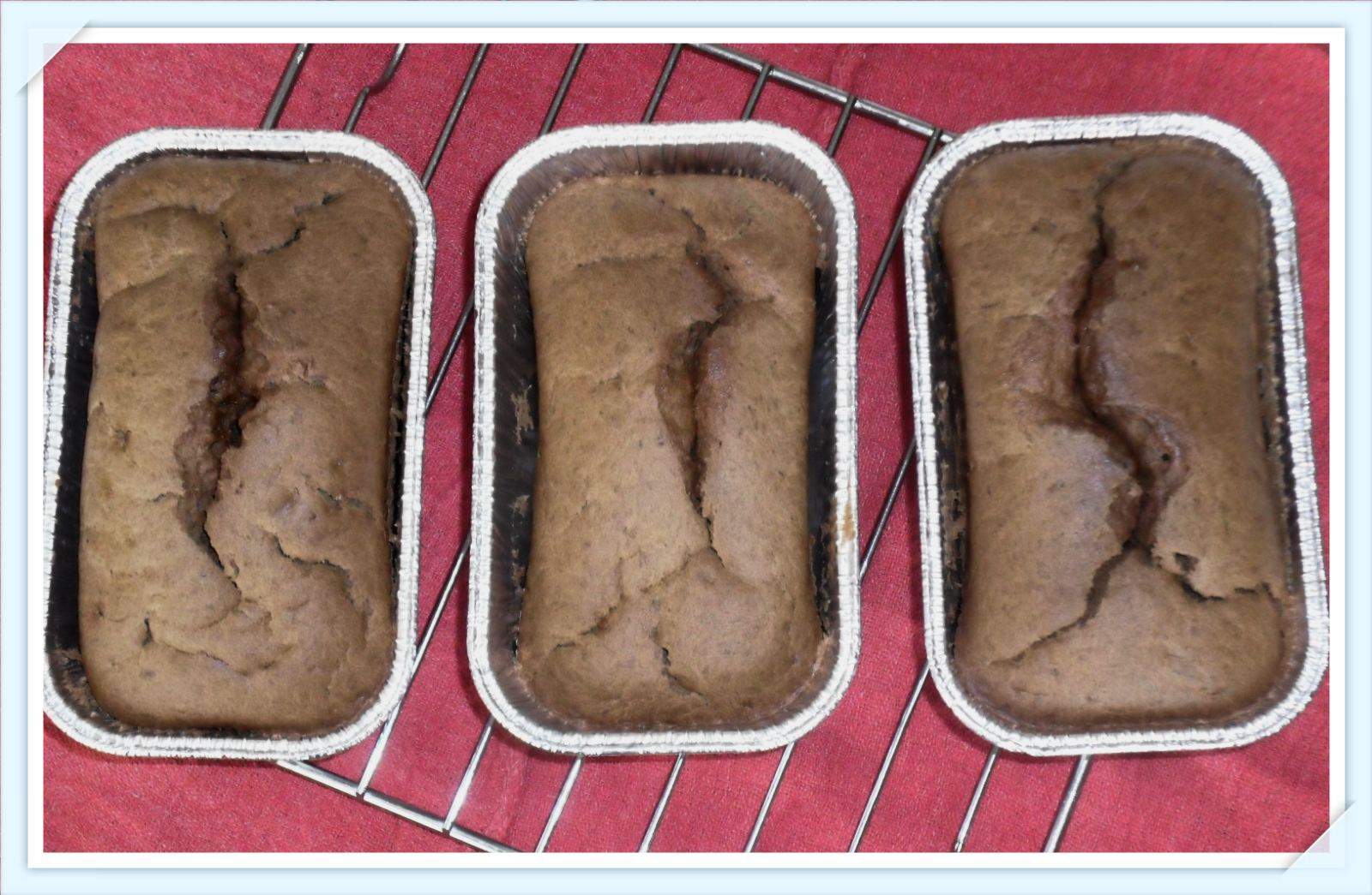 Banana Chocolate bread. Recipe