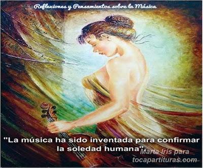 12. La música. 10 Reflexiones, frases y pensamientos musicales por la Profesora Marta Iris Rodríguez Números 11-20