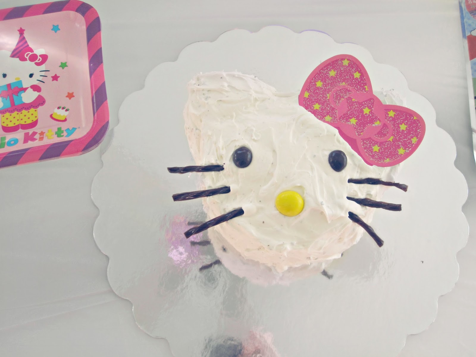 Hello Kitty Birthday, Hello Kitty Cake, Birthday Cake