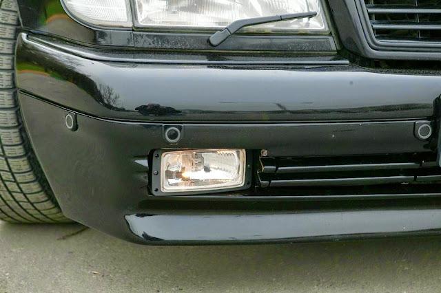 w140 bumper