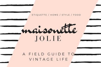 Maisonette: Jolie Goodnight's Blog