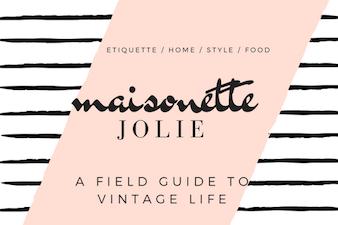 Maisonette: Jolie Goodnight's Blog