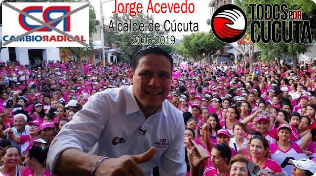 Más de seis mil mujeres aclaman a Jorge Acevedo como Alcalde de Cúcuta 2016-2019.« Caminata ☼ videos - CúcutaNOTICIAS