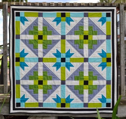 GenX-Aztec Baby Quilt - Tutorial