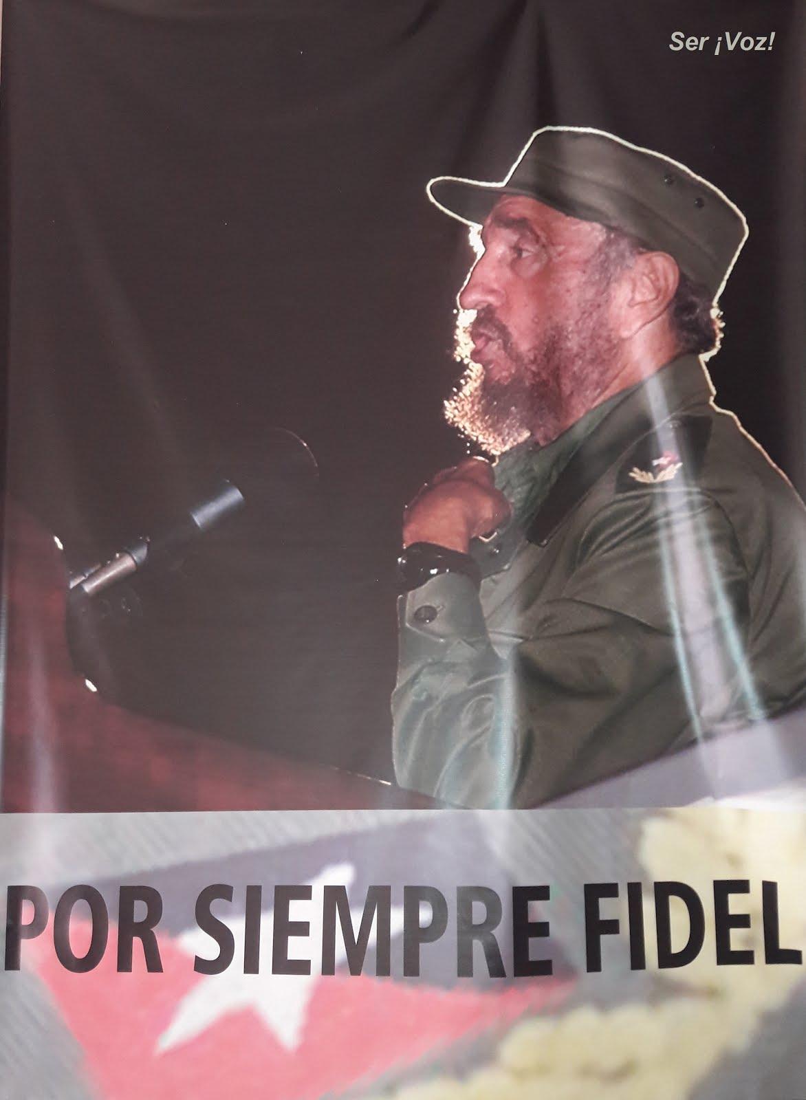 ¡Hasta siempre, Comandante Fidel Castro!