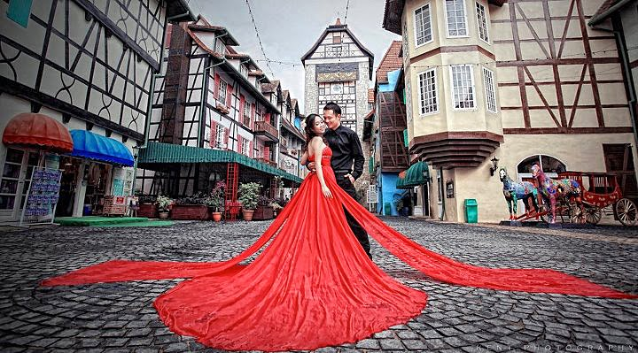 Weddings at Colmar Tropicale Berjaya Hills
