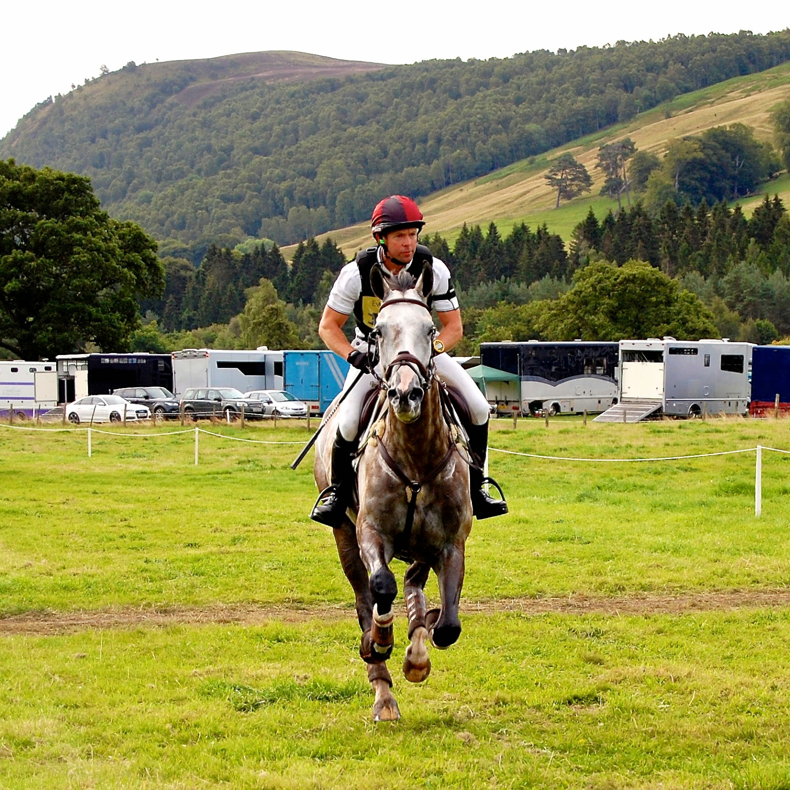 Rider at the Blair Castle International Horse Trials