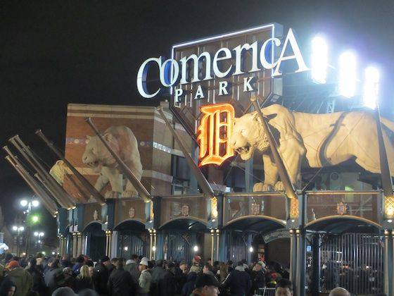 Detroit World Series 2012 Comerica Park