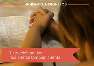 Orar y rezar por el Domund y los misioneros