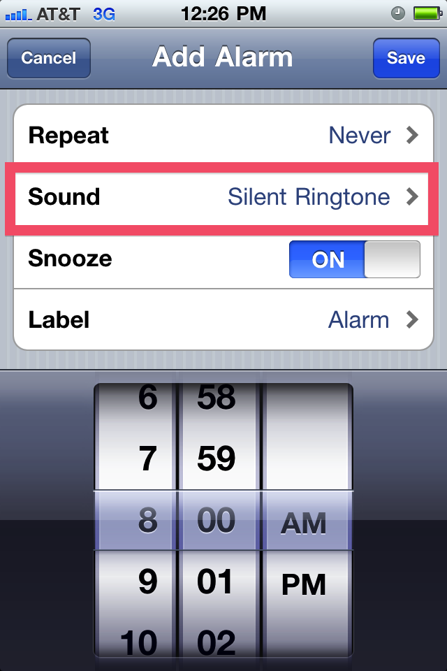 assigning ringtones on iphone