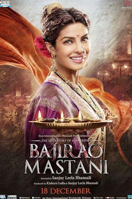 Bajirao Mastani Poster Priyanka Chopra