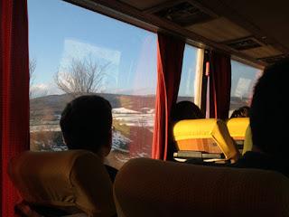 Mit dem Bus durch den Kosovo
