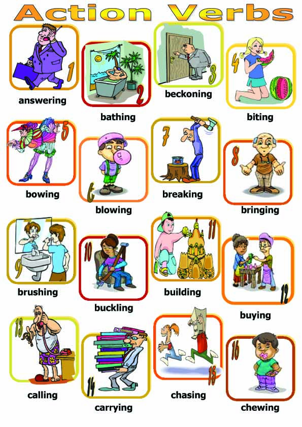 action verbs for resume writing examples