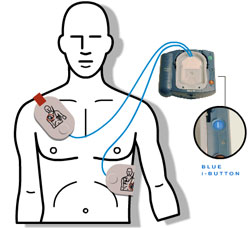 Learn First Aid: Automated External Defibrillator (AED) Model ...