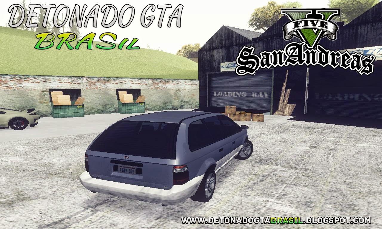 GTA SA - GTA V Minivan