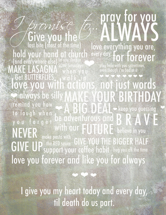 A Little Lovely Vow Inspiration