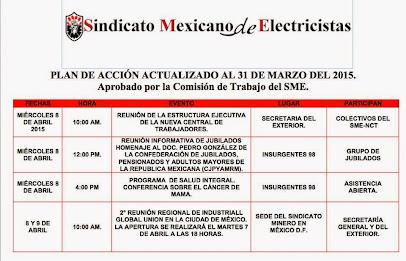 Plan de Acción Actualizado al 31 de Marzo del 2015