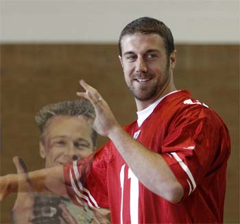 Alex Smith American Football Hairstyles Players QuarterBack
