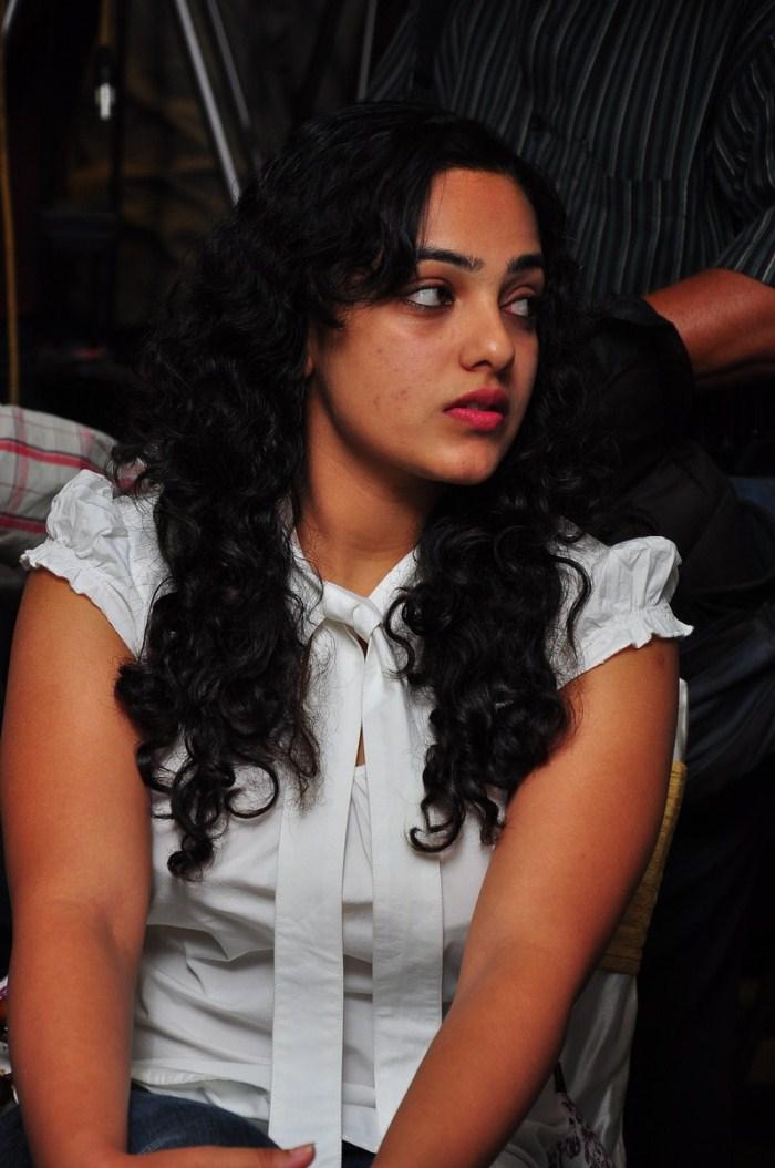 Nithya Menon Stills At Ala Modalaindi  Days Shield Functions Gallery navel show