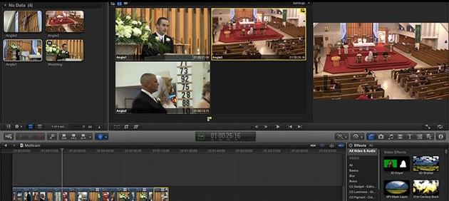 Multicam Video editing in Final Cut Pro