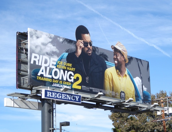 Ride Along 2 special extension billboard
