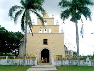 Iglesia Sitpach Yucatan Mexico