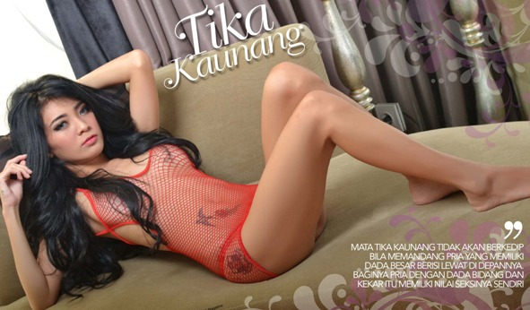 "Tika Kaunang ""Quick Sex Lebih Menantang""  - Gress Magazine Issue 18 Indonesia 