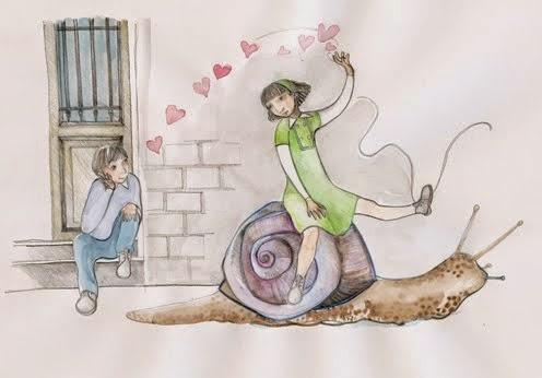 amor en caracol