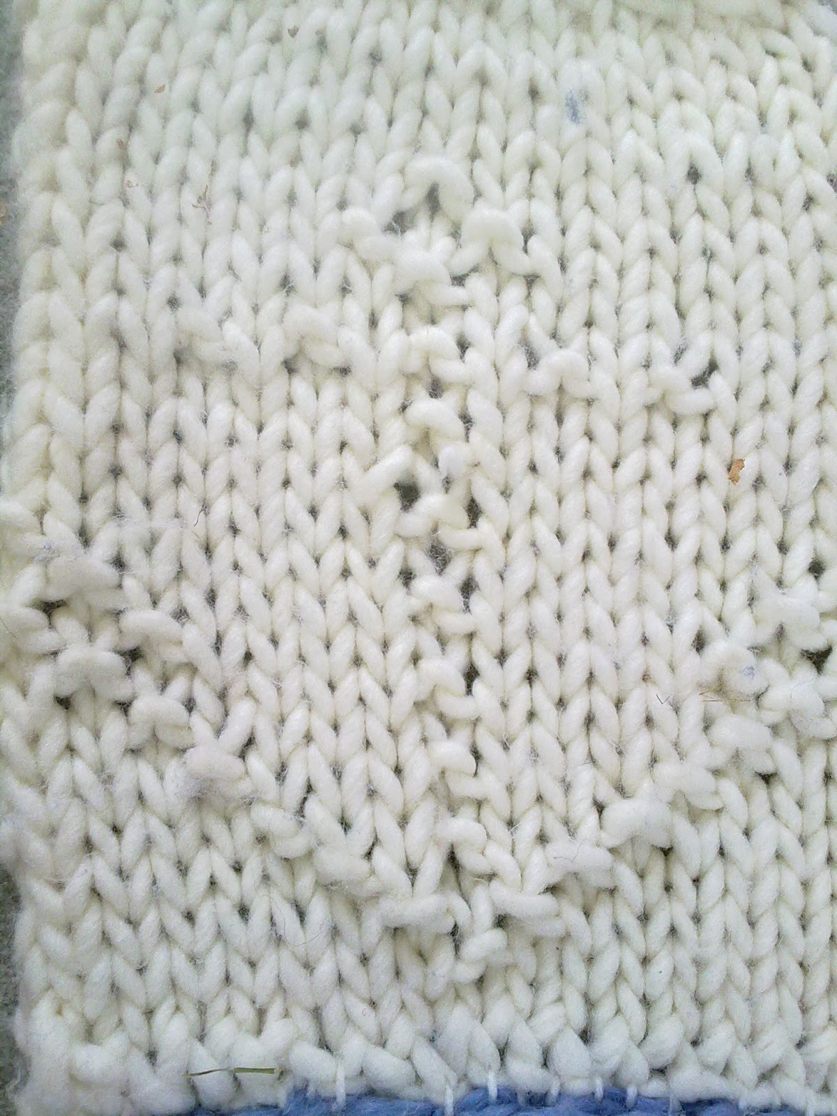 Knit Purl Afghan Patterns : Extemporary knitting: The learn to knit Afghan AKA
