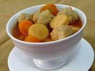 Sop Tomat Bola Ayam